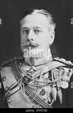 Field Marshal Douglas Haig, 1st Earl Haig, senior officer of the British Army - Stock Photo