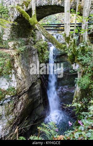 Kozjak Waterfalls - Stock Photo