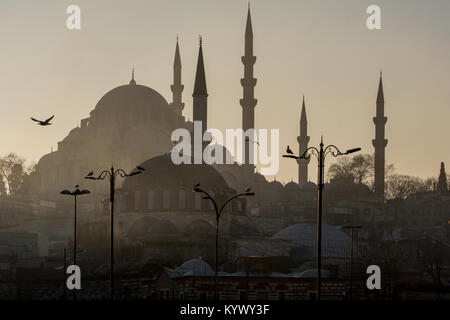 Mosques of Istanbul,Turkey - Stock Photo