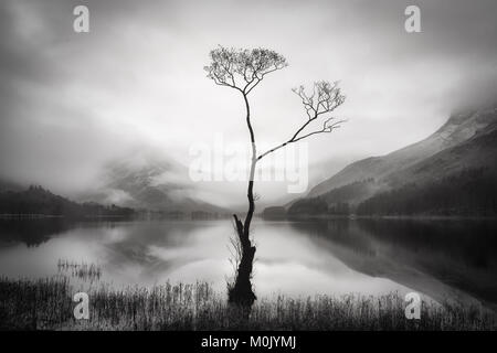 A Landscape image from Buttermere, Lake District National Park - Stock Photo