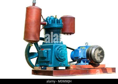 photo of air compressor - Stock Photo