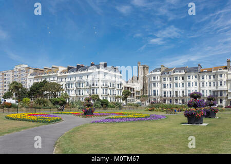 Warrior Square Gardens, St Leonards-on-Sea, Hastings, East Sussex, England, United Kingdom - Stock Photo
