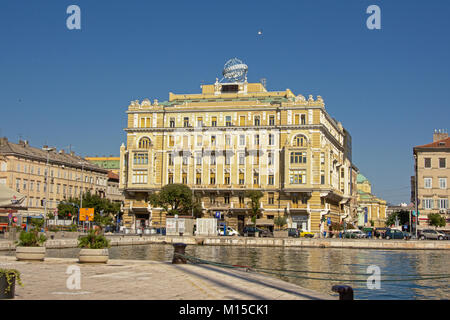 Download Neo Renaissance Building In The Port Of Rijeka Editorial Stock Image - Image of historic, downtown: 96895619 - Stock Photo