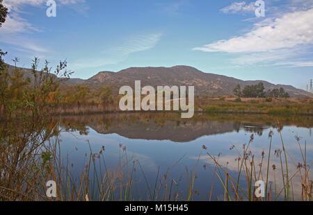 Barbara's Lake, James Dilley Greenbelt Preserve, Laguna Beach CA - Stock Photo