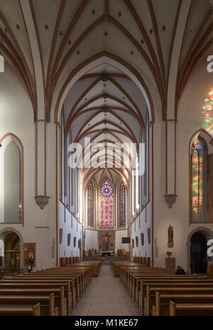 Wroclaw Breslau, St. Adalbert (polnisch Kosciól sw. Wojciecha), Blick nach Osten - Stock Photo