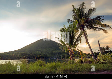 Gunung Api volcano,Banda Neira,Maluku,Indonesia - Stock Photo