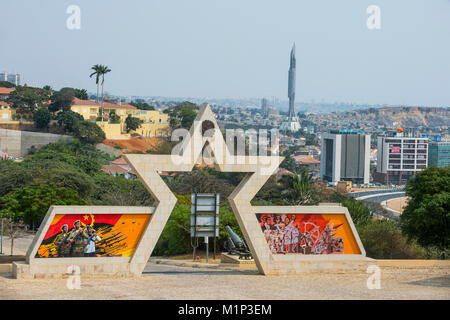 Fortaleza de Sao Miguel (St. Michael Fortress), Luanda, Angola, Africa - Stock Photo
