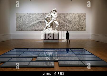 Museum of Modern Art, Rome, Lazio, Italy, Europe - Stock Photo