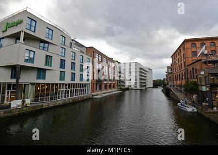 Camden Town,  Regent's Canal, London - Stock Photo