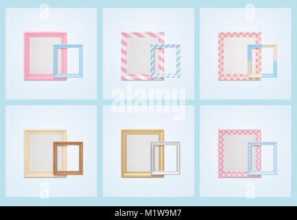Graphic- 3D item set, colorful object of number, mobile phone, box and decoration ball.  018 - Stock Photo