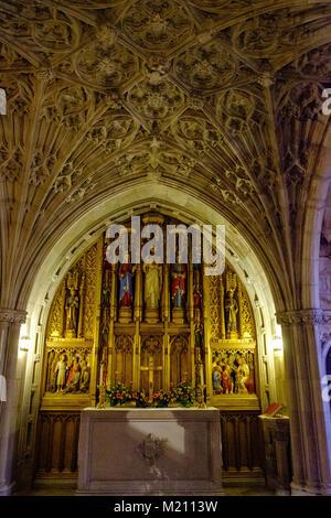 Children's Chapel, Washington National Cathedral, 3101 Wisconsin Avenue NW, Washington DC - Stock Photo