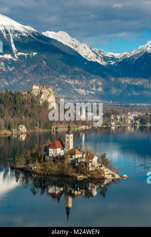 Lake Bled, Upper Carniola, Slovenia - Stock Photo
