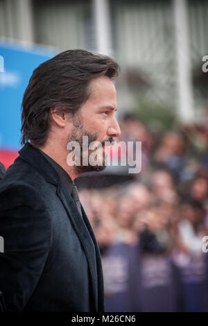 Actor Keanu Reeves attends the Knock Knock Premiere during the 41st Deauville American Film Festival, on September5, - Stock Photo