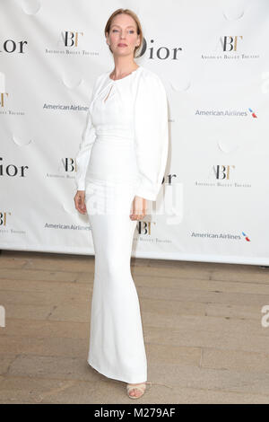 Uma Thurman attends the 2013 American Ballet Theatre Opening Night Spring Gala at Lincoln Center on May 13, 2013 - Stock Photo
