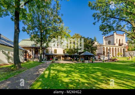 Zielinski's Palace, Kielce, Lesser Poland Voivodeship, Poland. Europe. - Stock Photo
