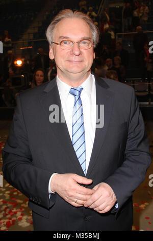 Sachsen-Anhalts Regierungschef Reiner Haseloff, Das Fruehlingsfest der 100000 Blueten mit Florian Silbereisen in - Stock Photo
