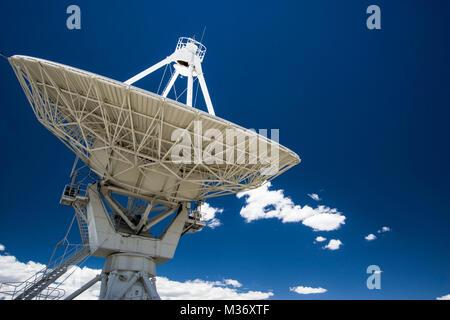 Very Large Array near Socorro in New Mexico - Stock Photo