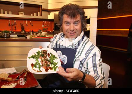 Lafter Lichter Lecker, Aufzeichnung vom 21.03.2010, Hamburg, Ausstrahlung: 24.04.2010, Andy Borg   ACHTUNG SPERRFRIST: - Stock Photo