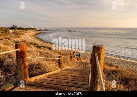 USA Pacific coast, Leo Carrillo State Beach, California. - Stock Photo