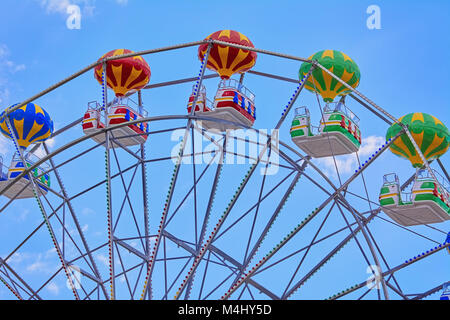 Ferris Wheel against Sky - Stock Photo