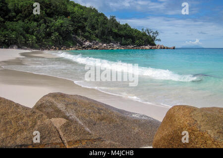 Anse Georgette, Praslin, Seychelles - Stock Photo