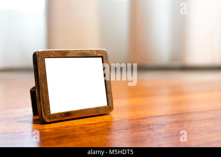 Miniature Silver Photo Frame Mock up - Stock Photo