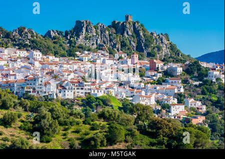 Village of Gaucín Spain - Stock Photo