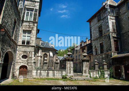 Buildings in the city of Chambéry. Located in the department of Savoie, Auvergne-Rhône-Alpes region in south-eastern - Stock Photo