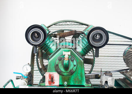 air filter, Cylinder Reciprocating Air Compressors on Industry - Stock Photo