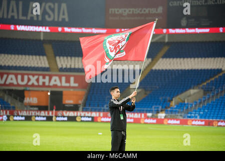 Wales v Panama, Cardiff city stadium - Stock Photo
