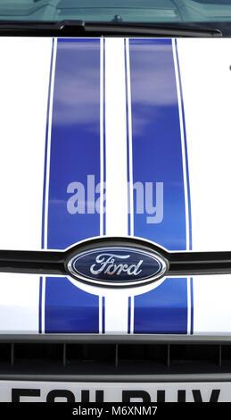 2011 Ford Fiesta British and European small car - Stock Photo