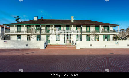 Monterey, CA -18 February 2018. The Monterey State Historic Park is composed of a number of significant historic - Stock Photo