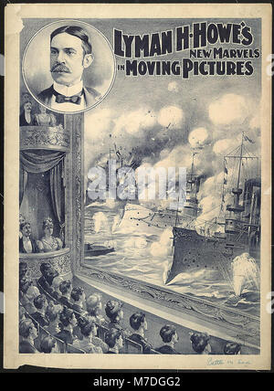 Lyman H. Howe's new marvels in moving pictures - Courier Litho. Co., Buffalo, N.Y. LCCN2004673467 - Stock Photo