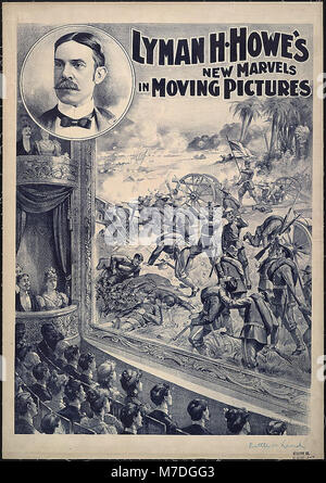 Lyman H. Howe's new marvels in moving pictures - Courier Litho. Co., Buffalo, N.Y. LCCN99404849 - Stock Photo