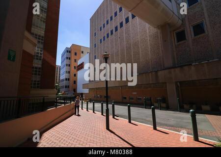 Adelaide Australia 14th March 2018. Many buldings of the original Royal Adelaide Hospital, Adelaide's largest hospital - Stock Photo