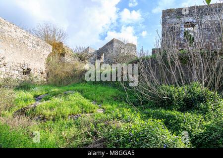 Kayakoy (karmylassos) old greek village in fethiye, Turkey - Stock Photo