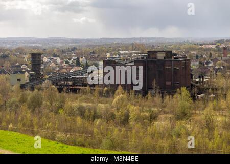 Dortmund, North Rhine-Westphalia, Germany - April 07, 2016: View over Kokerei Hansa (Hansa coking plant), seen from - Stock Photo