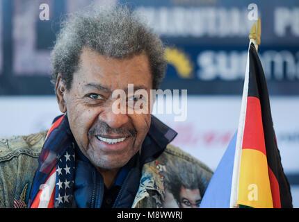 Hamburg, Germany. Hamburg, Germany. 20th Mar, 2018. 20 March 2018, Boxing, WBA Super Middleweight, press conference: - Stock Photo