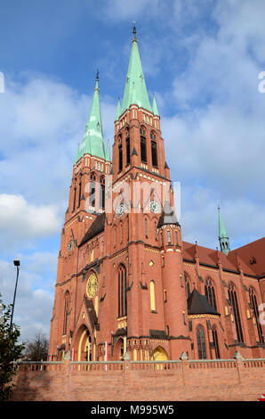 Cathedral in Rybnik (Poland) - Stock Photo