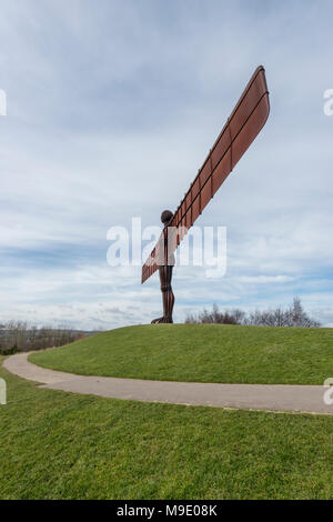 Angel of the North - Stock Photo