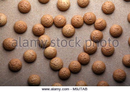oatmeal cookies studio quality - Stock Photo