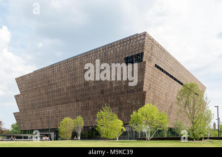Washington DC, USA - June 12, 2017. National Museum of African American History and Culture - Stock Photo