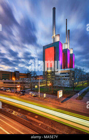 Linden power station in Hannover, Germany - Stock Photo