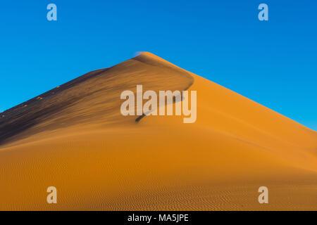 giant sand Dune 45, Namib-Naukluft National Park, Namibia - Stock Photo