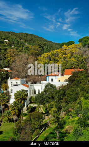 Caldas de Monchique Spa, Algarve, Portugal - Stock Photo