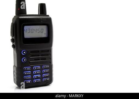 Two way Handheld Radio - Stock Photo
