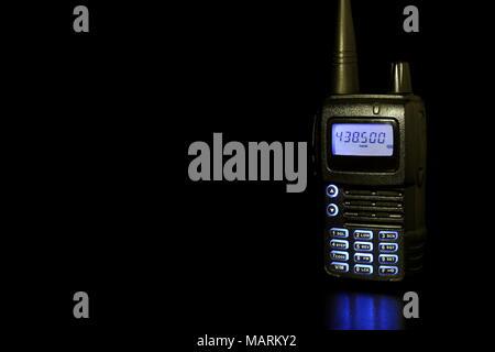 Handheld Two way Radio - Stock Photo