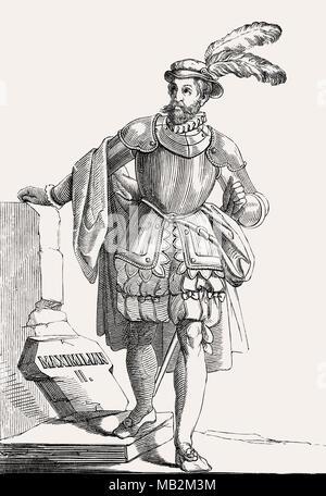 Maximilian II, Holy Roman Emperor from 1564 to 1576 - Stock Photo