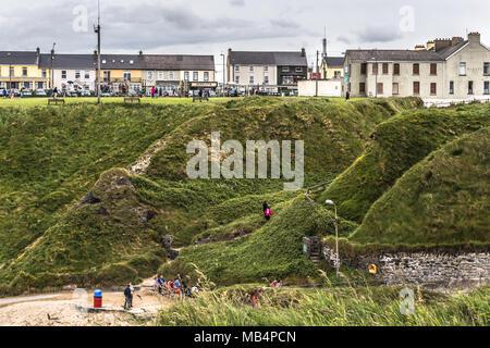 Ballybunion Beach Wild Atlantic Way Co. Kerry - Stock Photo