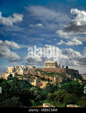 GR - ATHENS: The Acropolis - Stock Photo